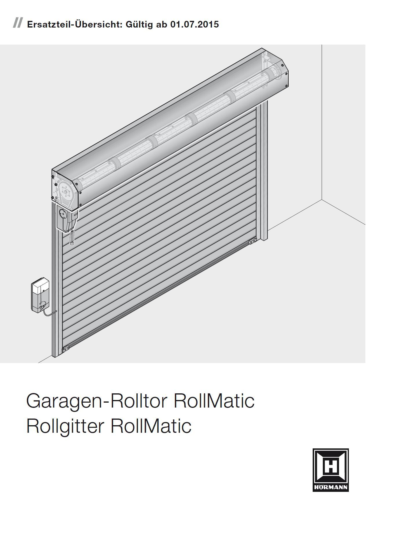 ersatzteile h rmann rolltor und rollgitter rollmatic bei tarotore remscheid solingen und wuppertal. Black Bedroom Furniture Sets. Home Design Ideas