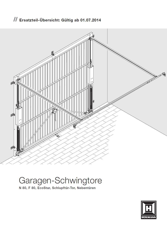 ersatzteile h rmann garagenschwingtore n 80 f 80 bei tarotore. Black Bedroom Furniture Sets. Home Design Ideas