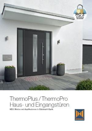 h rmann thermo65 eingangst ren aus stahl bei tarotore. Black Bedroom Furniture Sets. Home Design Ideas