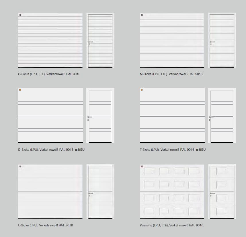 Garagentor hörmann oberfläche  Hörmann | Sekionaltore | Moderne Sectionaltore bei TAROTORE